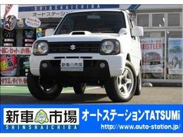 スズキ ジムニー 660 XC 4WD ターボ 5MT JB23W フォグランプ CD 白