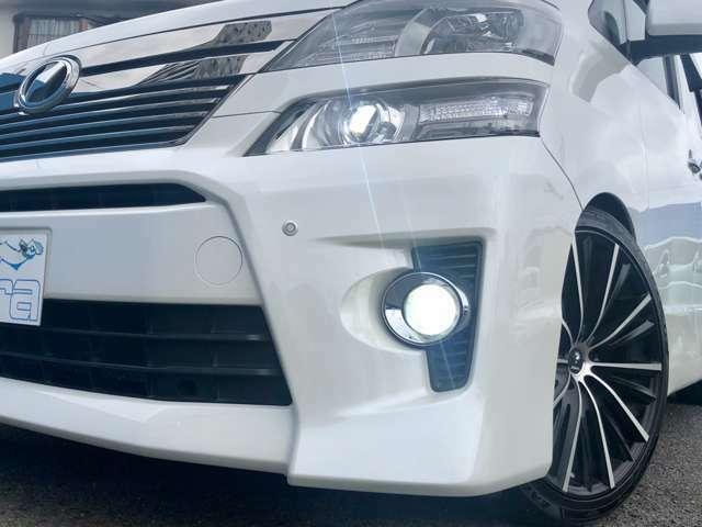 明るく視認性の良いHIDヘッドライト!LEDフォグランプ!