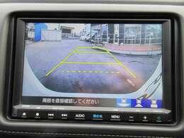 純正ギャザーズ8型SDナビ付き♪ ガイド線付バックカメラで、駐車も安心ですね♪ 画面も大きくとても見やすくなりますね♪