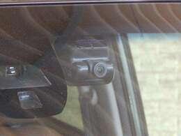 最近増えてきたドライブレコーダーもついています
