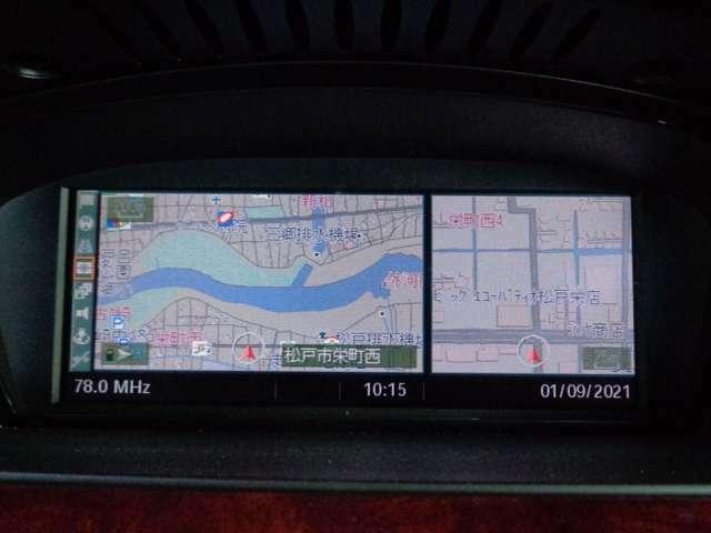 純正HDDナビ装着車ですので使い勝手も良好です。