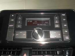 お好きなラジオやCDを聞きながらドライブできます。