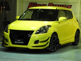 スズキ スイフト 1.6 スポーツ TMスクエアフルエアロ BLITZ車高調