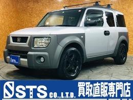 ホンダ エレメント 2.4 4WD 社外ナビ フルセグTV ブラック塗装17AW