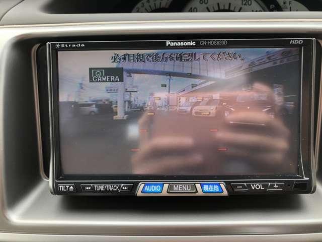 バックカメラ付き!駐車の際などに助かりますよね!