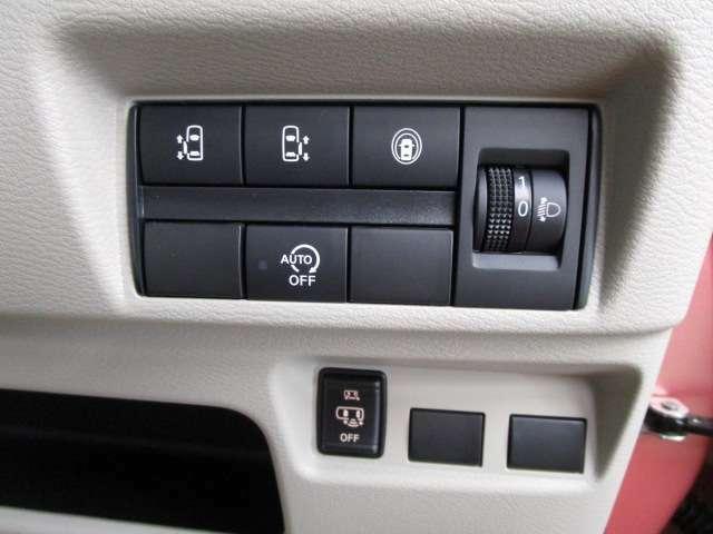 さまざまな設定ボタンがまとまっているから使いやすさがGood!