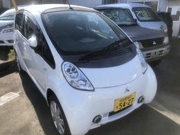 三菱 アイ・ミーブ(軽) ベースモデル 200V-100V両充電16KW コムテックドラレコ付