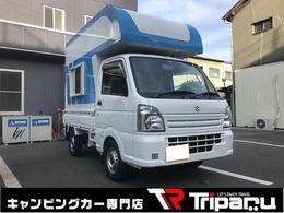 スズキ キャリイ 660 KCエアコン・パワステ 3方開 軽キャン トランク付トリパル