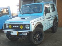 スズキ ジムニー 550 インタークーラーターボ バン 4WD アルミ オーバーフェンダー 新品バンパー