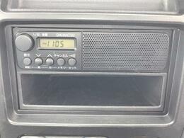 嬉しいラジオ付きのお車です♪