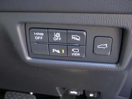 I-STOP、車線逸脱警報、オフロード・トラクション・アシスト(4WD)、リヤパーキングセンサ、360度カメラ、パワーリフトゲートが装着されています。