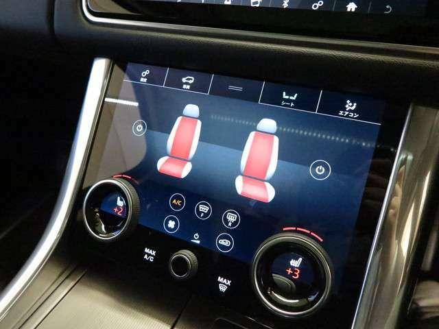 フロントシートにはヒーターを装備。エアコンよりも早く温まるので寒い季節でも快適にご乗車頂ける装備です。