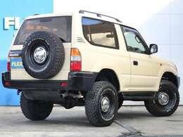 背面タイヤも装着のワイルドスタイルです!