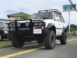 トヨタ ランドクルーザー80 4.5 VXリミテッド 4WD ・6インチリフトUP・サンルーフ