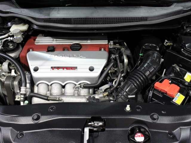 K20A 直列4気筒DOHC i-VTEC!エンジンルームもクリーニング済み!