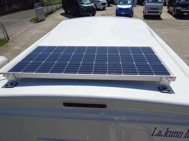 ソーラー・MPPT充電 サブBT 走行充電 外部電源