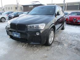 BMW X3 xドライブ20i Mスポーツ 4WD 電動半革シート フルセグナビ キセノン