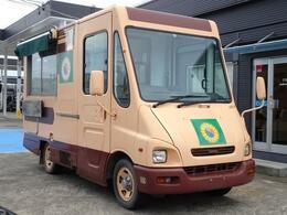 いすゞ ビギン 移動販売車 キッチンカー 8ナンバー 加工車登録 AT ディーゼル