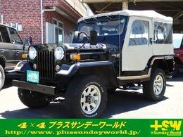 三菱 ジープ 2.7 ディーゼルターボ 4WD J55ゴールデンブラック 純正幌 CD付き
