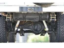 ランクル77 ZX リフトアップ サンルーフ入庫しました!社外AW新品タイヤ・社外バンパー・LEDテール!納車整備時にはタイミングベルト・ウォーターポンプ・その他補機ベルト交換してご納車致します!