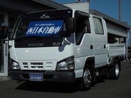 いすゞ エルフ 4.8 ダブルキャブ 低床 ディーゼル スムーサー・Wタイヤ