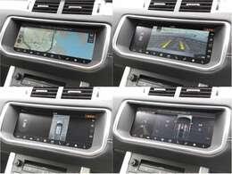 操作性重視のタッチパネル式モニター。全方位カメラで駐車時も安心。