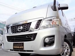 日産 NV350キャラバンワゴン 2.5 GX(オートスライドドア付) ロングボディ 低床 10人乗1オナ禁煙ナビTVBカメDレコ電動ドア