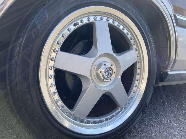 SMITHSONIAN SPORT17インチアルミ!!BSレグノGR-X1タイヤ(2018年製造7分山)!!タイヤ交換も出来ますので、お気軽にご相談下さい!!