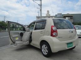 トヨタ パッソ 1.0 X Lパッケージ ウェルキャブ 助手席リフトアップシート車 Aタイプ ナビTV バックモニター付