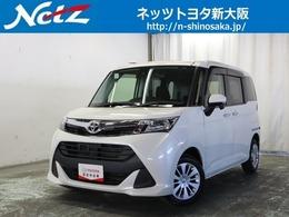 トヨタ タンク 1.0 G S トヨタ認定中古車 衝突軽減装置SDフルナビ