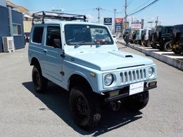 スズキ ジムニー 660 ランドベンチャー 4WD 5MT リフトアップ 全塗装済み 構変済み