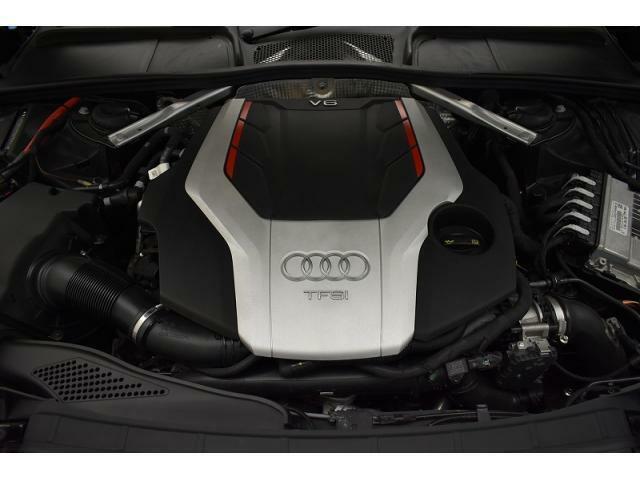 ●3.0TFSIQUATTROエンジン『入庫時の状態もとても良く、エンジン機関も良好!ぜひ一度現車を御覧下さい!他にも多数の在庫を展示!』
