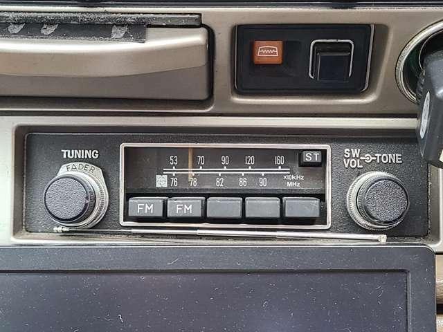 ★当時物純正ラジオ♪動作確認済みです♪