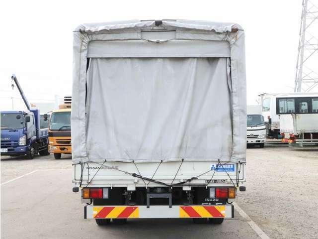 【車両総重量】  6375kg  【最大積載量】  2850kg  【対応免許】準中型