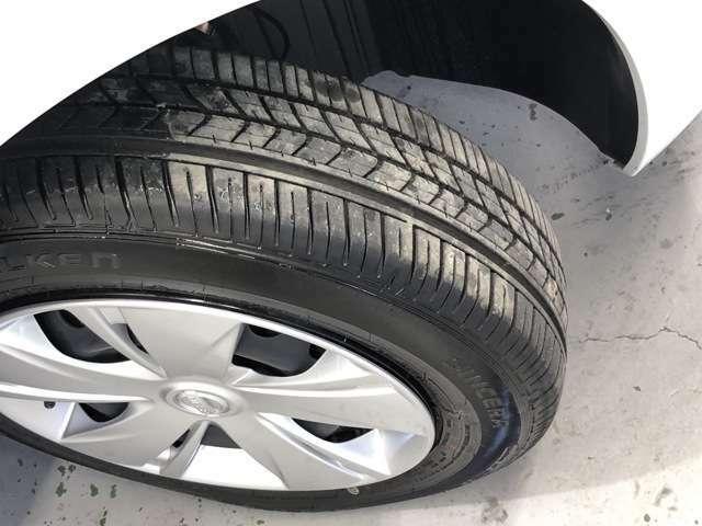 タイヤの溝も残っているのでまだまだ使っていただけます