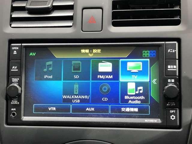 純正メモリーナビ MJ119D-W CD ラジオ フルセグ機能搭載です