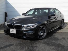 BMW 5シリーズ 530e Mスポーツ 19AW黒革地デジACCHUDETCデモ認定車