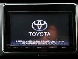 トヨタ純正SDナビを装備。フルセグTV、ブルートゥース接続、DVD再生可能、音楽の録音も可能です。