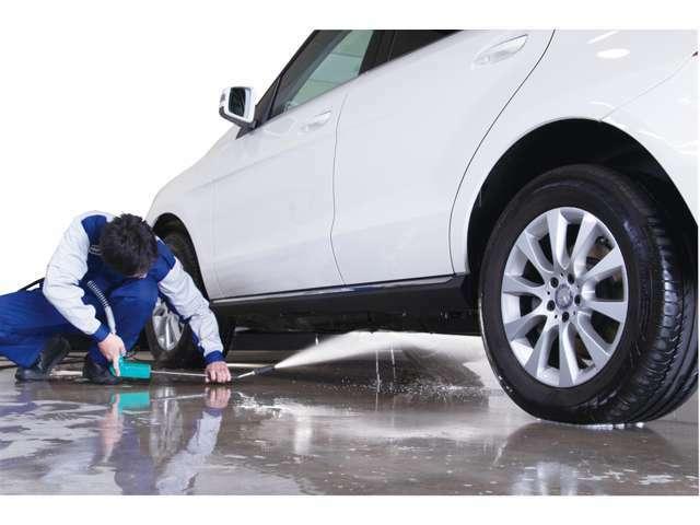 1年間、洗車だけでOK♪ (※6ヶ月に一度メンテナンスを推奨いたします)