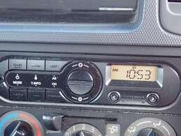 簡単操作で使いやすいAM/FM チューナー♪
