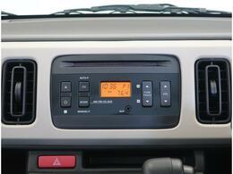 ラジオ/CDプレイヤー標準装備★