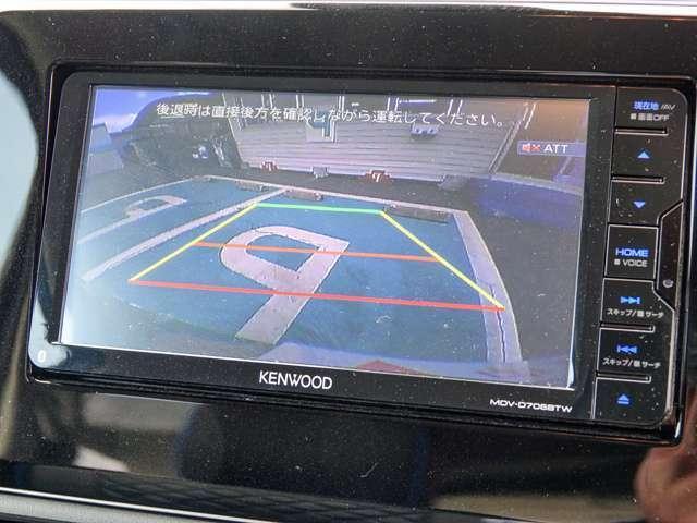 車庫入れラクラクバックカメラ付きです