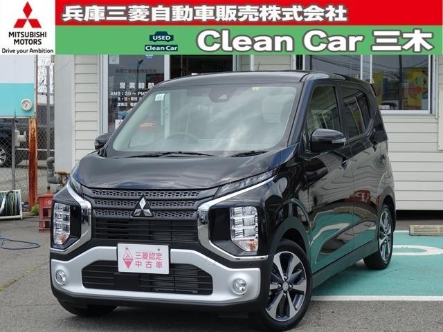 三菱軽自動車のニューカマー!個性的なスタイルが魅力のEKクロスです!