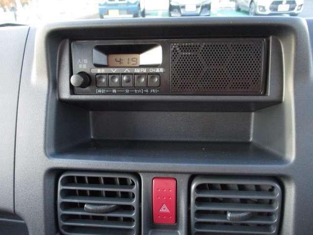 AM/FMラジオ付き!!