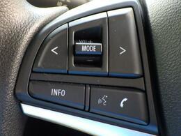 ハンドルにはオーディオスイッチ搭載!スズキ純正オーディオ・ナビゲーションと連携させて使えます♪