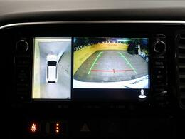 アラウンドビューモニター搭載!運転に不安がある方も安心です。