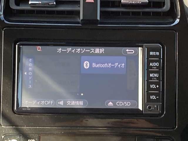 CDやブルートゥースオーディオ再生機能付なので車内を退屈させません