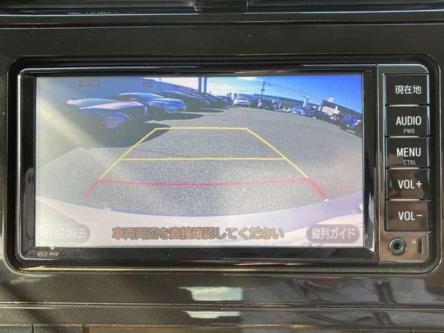 バックカメラ付きで駐車も簡単に行えますよ