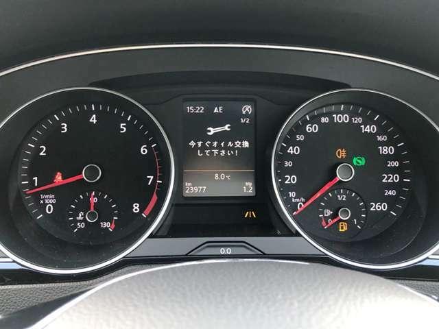 ●スピードメーター『指針で見やすく躍動感のあるメーターパネル』