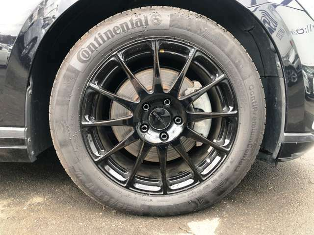 ●17インチ社外アルミホイール※純正アルミあります。『ノーマル社外タイヤ装着車になります。』